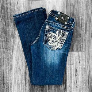 Miss Me Boot Cut Jeans Sz 28